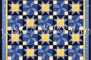 Дизайн лоскутного одеяла «Вечерний ветерок»