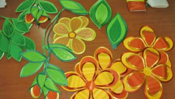 Декор для штор «Цветочный»