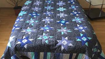 Лоскутное одеяло «Звездная ночь»