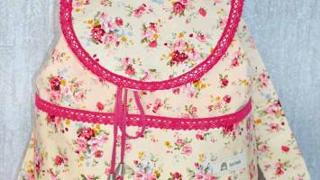 Лоскутный рюкзак «Роза Утопия»