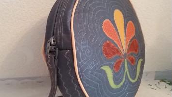 Лоскутная сумка «Цветик-семицветик»
