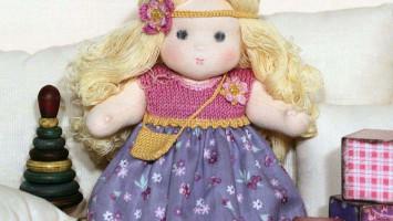 """Вальдорфская кукла """"Маняша Варя"""""""