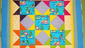 """Детское лоскутное одеялко """"развивающий коврик"""""""