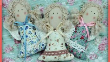 """Текстильная игрушка """"Ангелочки"""""""