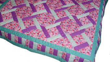 Лоскутное покрывало-одеяло