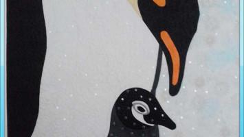 """Детское панно """"Пингвины"""""""