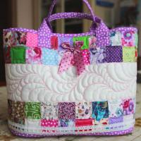 Сумка - корзинка для девочки «Розовый сон»