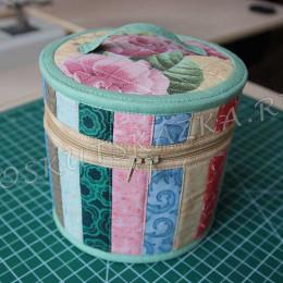 Мастер-класс по пошиву текстильной шкатулки