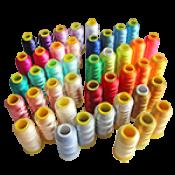 НИТКИ ВЫШИВАЛЬНЫЕ Цвет ниток Бордовый, Зелёный, Золотистый, Пурпурный, Салатовый, Сиреневый