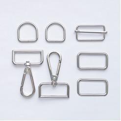Комплект фурнитуры металлической для сумки, KFM-02
