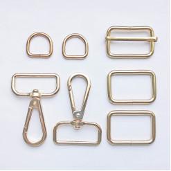 Комплект фурнитуры металлической для сумки, KFM-03