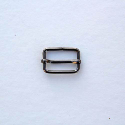 Рамка-регулятор 20x13мм, цвет тёмный никель, (упак. 1 шт.)