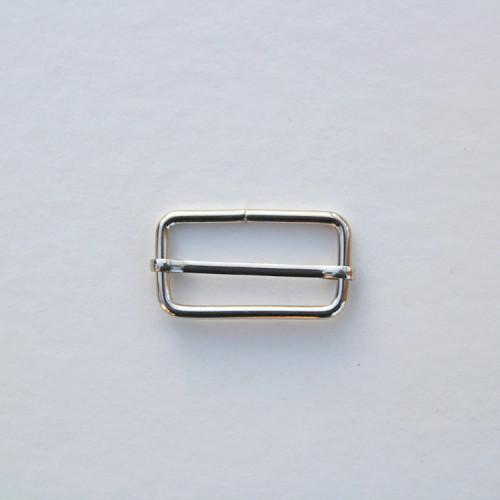 Рамка-регулятор 32x15мм, цвет никель, (упак. 1 шт.)
