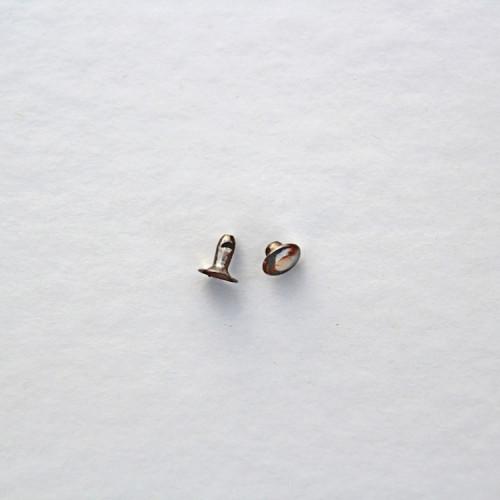 Хольнитены 7 мм, цвет тёмный никель, (упак. 10 шт.)