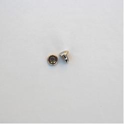 Хольнитены двухсторонние 7 мм, цвет никель, (упак. 10 шт.)