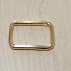 Рамка металлическая, 32х20х3.8мм, золото, упак. 5шт