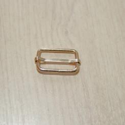 Рамка-регулятор металлическая, 25х15х3мм, золото, упак. 5шт