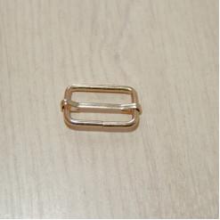 Рамка-регулятор металлическая, 25х15х3мм, золото