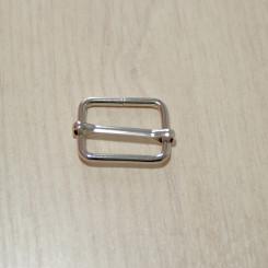 Рамка-регулятор металлическая, 25х20х3мм, никель, упак. 5шт