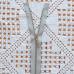 Молния металлическая, никель, 50см/5мм, серый