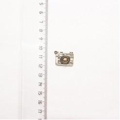 """Подвеска металлическая """"Фотоаппарат"""", 20 мм, бронза, PM-007"""