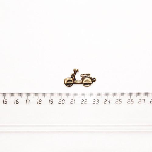 """Подвеска металлическая """"Скутер"""", 25 мм, бронза, PM-008"""
