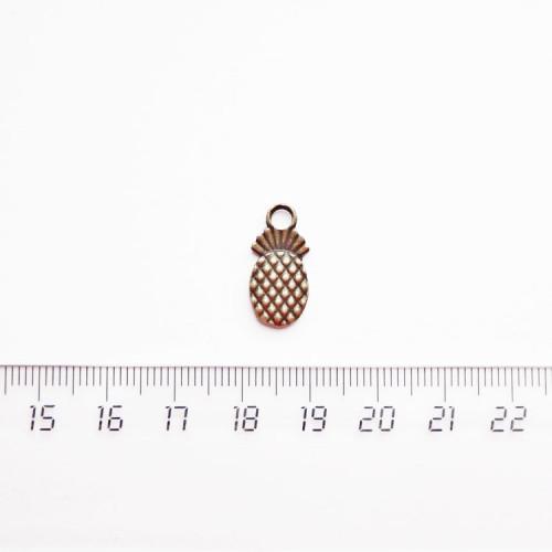"""Подвеска металлическая """"Ананас"""", 18мм, бронза, PM-023"""