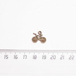 """Подвеска металлическая """"Велосипед"""", 15мм, бронза, PM-024"""