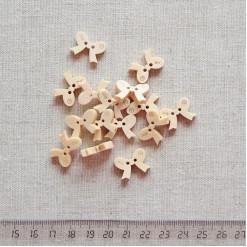 Пуговица деревянная, 18мм, PGV-003-10