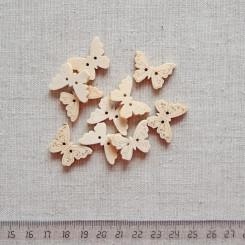 Пуговица деревянная, 23мм, PGV-003-11