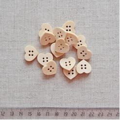 Пуговица деревянная, 18мм, PGV-003-19