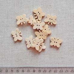 Пуговица деревянная, 22мм, PGV-003-20
