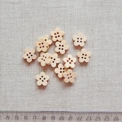 Пуговица деревянная, 16мм, PGV-003-9