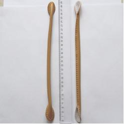 Ручки для сумок, цвет бежевый, кожзам, FRS-001