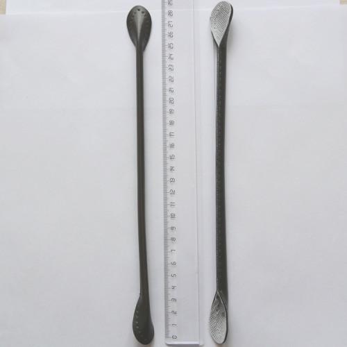 Ручки для сумок, цвет тёмно-зелёный, кожзам, FRS-002