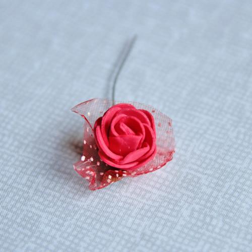 Цветок декоративный, 20мм, упак. 5шт., CD-01-4