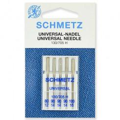 Иглы стандартные Schmetz, набор  5 шт., №80-90-100