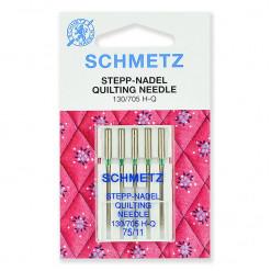 Иглы для квилтинга Schmetz, №75, 5 шт.