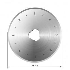 Лезвие круговое Ø28, LK-28, 1 шт.
