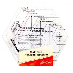 Лекало для создания гексагонов, Sew Easy, NL4170