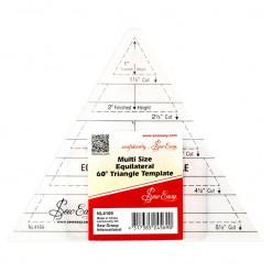 Лекало для создания треугольников  с углом 60°, Sew Easy, NL4169