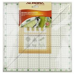Линейка для пэчворка квадрат, 31.5*31.5см, Aurora, AU-3131