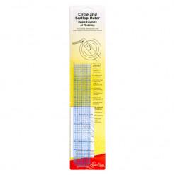 Линейка для рисования кругов и фигурных краев, Sew Easy, ER897