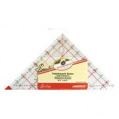 """Линейка для пэчворка треугольник с углом 90°, 4 1/2"""" x 4 7/8"""" дюймов, Sew Easy, NL4203"""