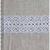 Кружево хлопковое вязаное Ширина 15 мм, 35 мм