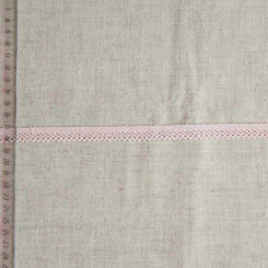 Кружево хлопковое, вязаное, KHC-0045, 12мм, цвет нежно-розовый