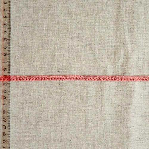 Кружево хлопковое, вязаное, KHC-0051, 8мм, цвет коралловый