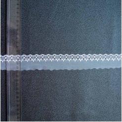 Кружево на сетке полиэстер, 35мм, KSS-0009
