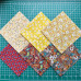 Набор тканей, хлопок 100%, 6 шт., размер 30х30см, NTM-096