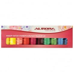 Набор ниток универсальных Talia №120, Aurora, AU-1205